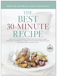 The Best 30-Minute Recipe by Cooks Illustrated